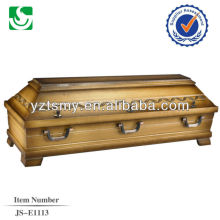 high quality walnut cheap coffin