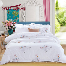 High Quality Hotel Bedding Linen Supplier top 5 luxury 5 star 60s cotton print bedding sets
