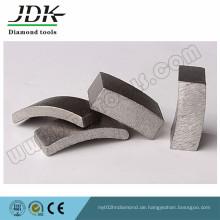 Diamant-Kernbohrer-Segment für Granitbeton
