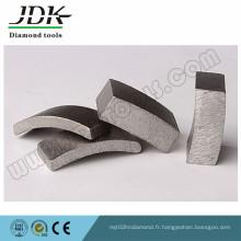 Segment de forets de carottage de diamant pour le béton de granit
