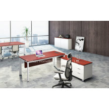 Melamine Office Executive Desk Modern Manager Table Furniture (HF-YZL003)