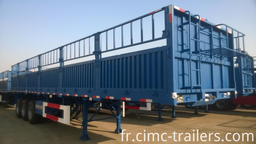 Rf Dangote Tri Axle Fence Semi Trailer