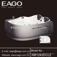 Corner Mounting 2 Person Hydromassage Bath Tub (AM124)