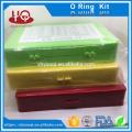 Бутадиен-нитрильный каучук 70 скобяными резины o кольцо комплект, метрическая о-кольцо комплект коробка стандарт as568 / метрическая/стандарт JIS кольца уплотнительное кольцо ремонт комплект