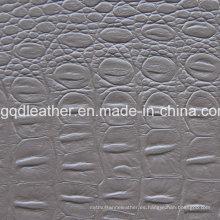 Diseño de moda de cuero de PVC (QDL-51469)