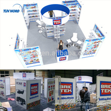 Detian Offer stand exhibition trade show aluminum booth exhibition modular display stands