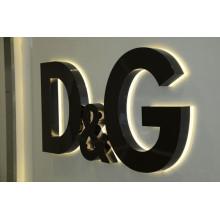 Alta calidad Frontlit y retroiluminado LED iluminado muestra