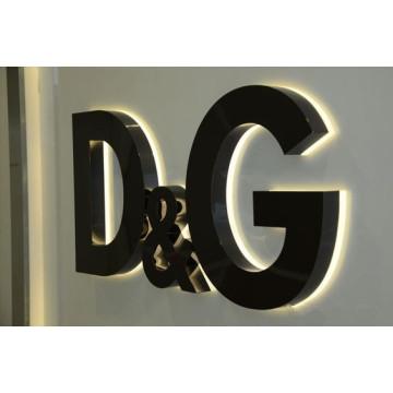 Alta qualidade Frontlit e Backlit LED iluminado sinal
