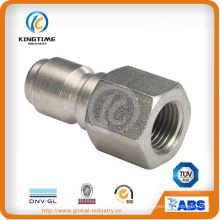 Stainless Steel Quick Release Female Thread Pipe Nipple (KT0413)