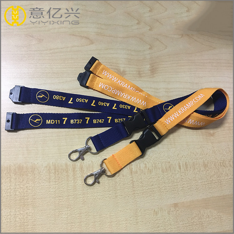 braided holder lanyards