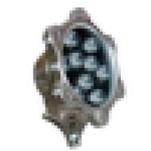 9W luces subacuáticas del LED para las fuentes pequeñas lámpara de la fuente del precio agradable IP68