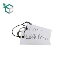2018 logotipo durável imprimiu a etiqueta do Hag do vestuário para panos