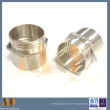 Pièces de tournage en aluminium anodisé (MQ701)