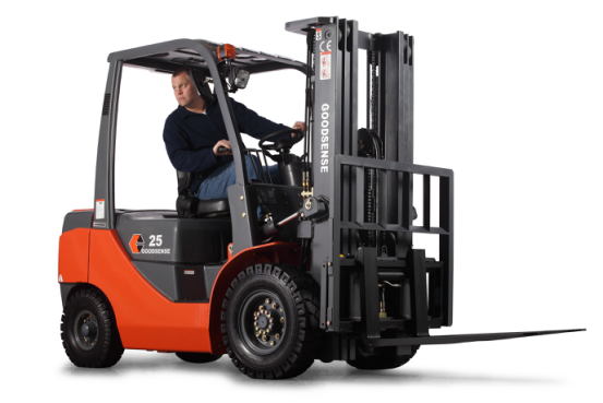 Forklift With ISUZU Engine