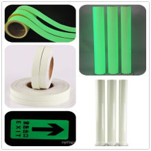 PET ou PVC filme de vinil luminoso