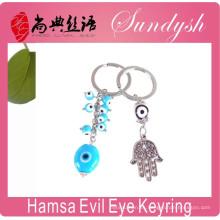 Accesorio de la joyería de la promoción El llavero del mal de ojo al por mayor