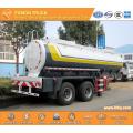 2-axle chemical liquid transport semi trailer