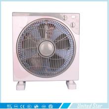 2015 venta caliente 10 pulgadas DC eléctrica de plástico caja ventilador