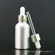 Primary Color Aluminum Dropper Bottle with Aluminum Cap and Pipette