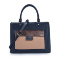 Designer-Handtasche MK Bags Grainy Leather Black