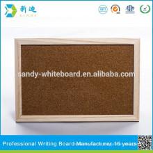 Cadre en bois cadre de liège respectueux de l'environnement personnalisé