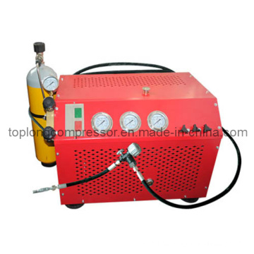 Compresor de alta presión del salto de la escafandra autónoma del compresor del Paintball (Lyh100 3kw)