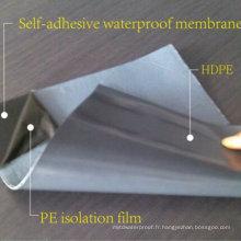 Membrane imperméable auto-adhésive / fabricant approuvé par 20 ans d'OIN
