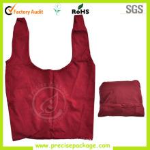 Reusable Folding Polyester Shopping Bag (PRF-801)