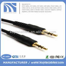 6 FT MINI AUDIO STEREO 3.5MM CABLE MALE A MALE MP3 6FT