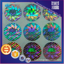Anti-fake Rainbow Hologram Sticker Label