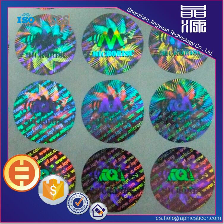 Secure Tamper Evident Hologram Label Sticker