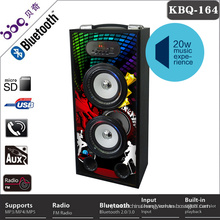 4inch 10W * 2 driver Cheap gaming speakers with remote controller