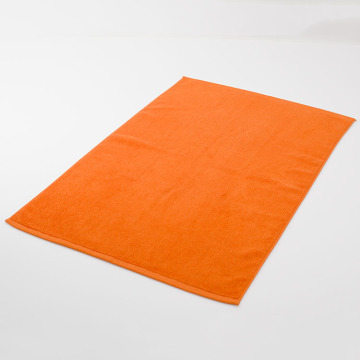 Tapis de bain d'orange de luxe Tapis de grande surface Serviette