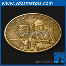 personalize moedas, oval personalizado Oval Nay Seal challenge coin