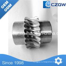 Червячное колесо нестандартного исполнения с зубчатым приводом для различных механизмов