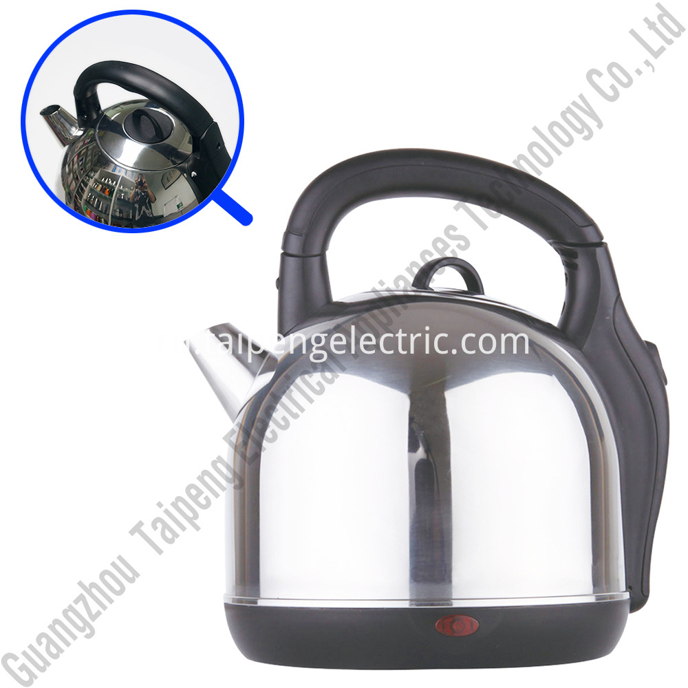 Large capacity electric water kettle
