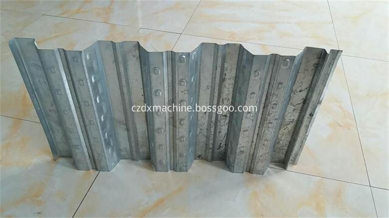 Galvanized Sheet Metal Floor Deck Roll Forming Machine