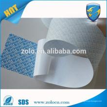 Material de papel de etiqueta auto imprimível de boa qualidade OPEN VOID