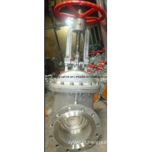 Válvula de portão API com extremidade flangeada de aço inoxidável