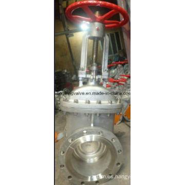 Válvula de compuerta de extremo de vástago de levantamiento RF con acero inoxidable