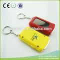 Hot LED personalized solar Keychain, solar powered keychain name ,LED key lamp