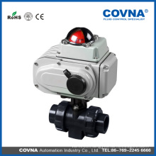 Cheap price electric plastic water pvc ball valve from china manufacturers