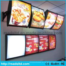 Caja de luz del menú LED Best Sell Double Sides