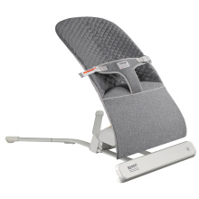 Cadeira giratória automática Ronbei com berço elétrico e espreguiçadeira