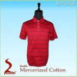 Custom Mens T-shirt Promotional Striped Cotton T-shirt polo shirt wholsale