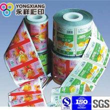 Rollo de película de embalaje de plástico personalizado