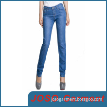 Blue Women Denim Skinny Jeans (JC1048)