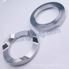 Edelstahl Drehbank Fräsen CNC Bearbeitungsteil für LED Taschenlampe Metallteil