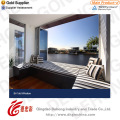 China Gold Quality Aluminum Fixed Window