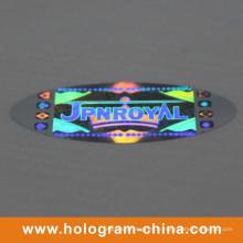 Impression d'étiquettes d'hologramme de sécurité anti-faux en argent
